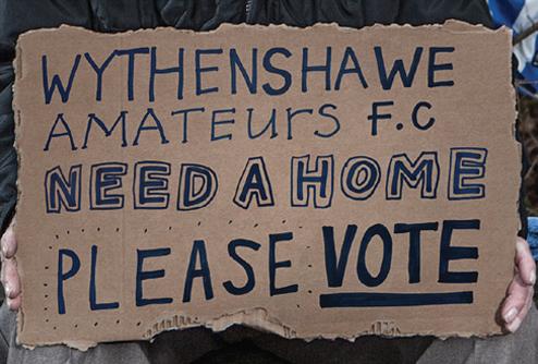 Help us build a home for Wythenshawe Amateurs FC