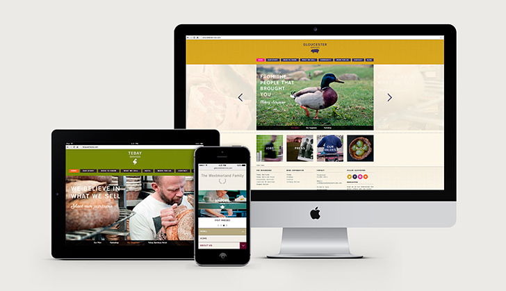 The Westmorland Family Responsive Website designs