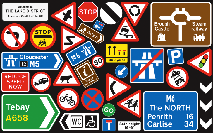 Westmorland-Family-UK-Road-Signs