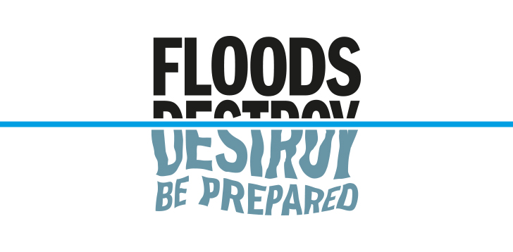Environment Agency Floods Destroy Be Prepared Master Mark