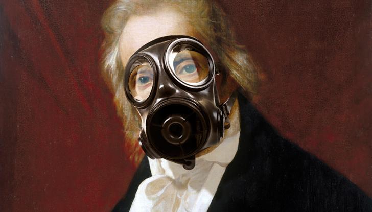Oddfellows gasmask fellow
