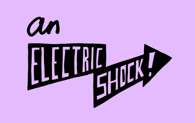 An electric shock