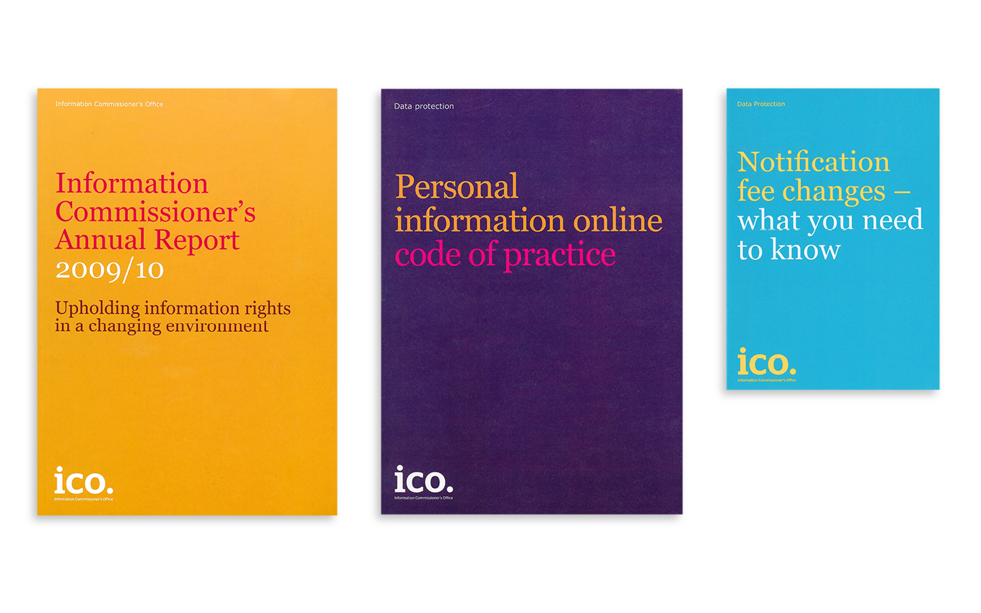 ICO document cover colours
