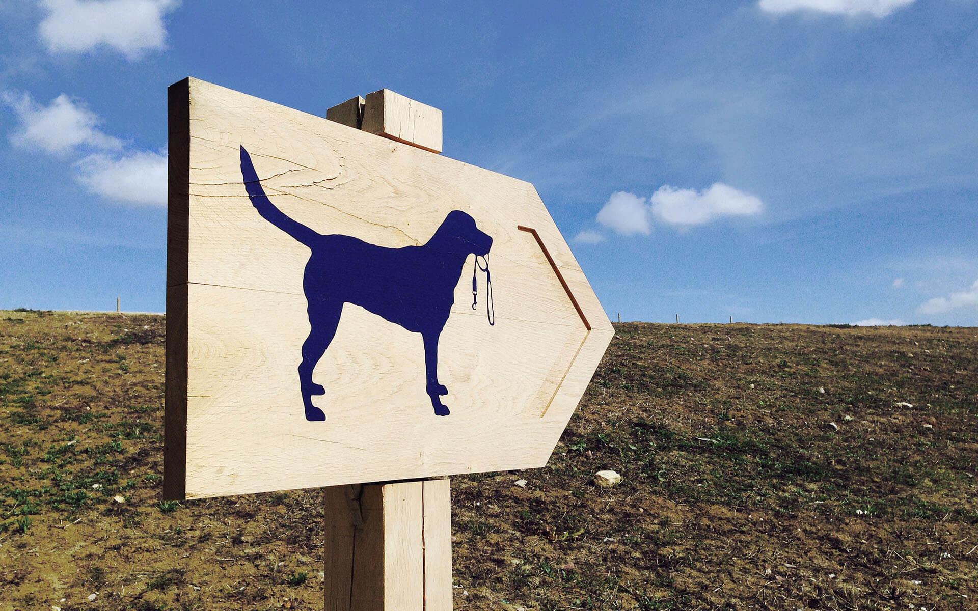 The Westmorland Family - Gloucester Services Dog Walk Signage