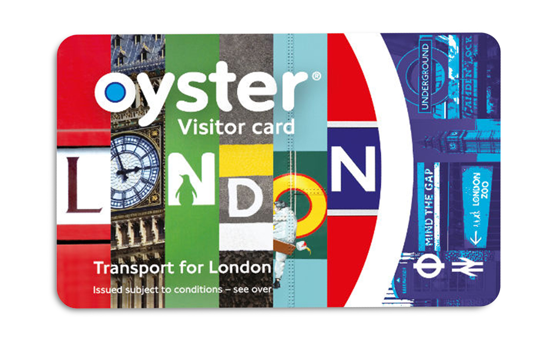 ZSL London Zoo Oyster card
