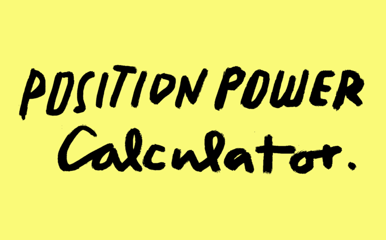Tool | Position Power Calculator