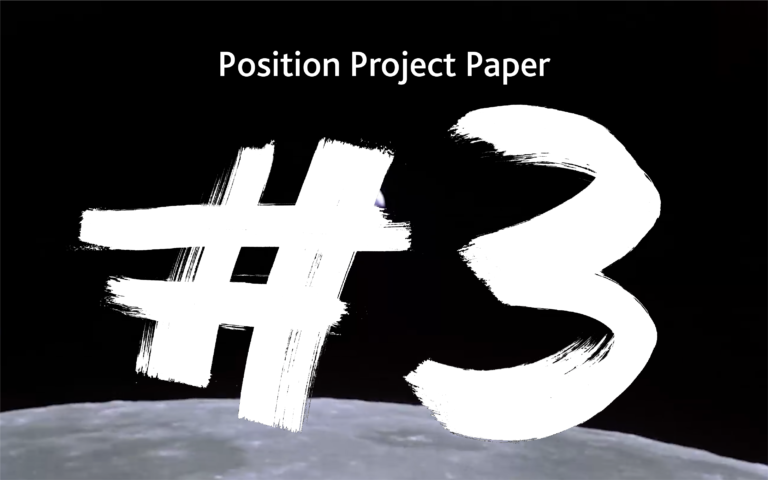 Paper #3 | Caution: The three blackholes of position
